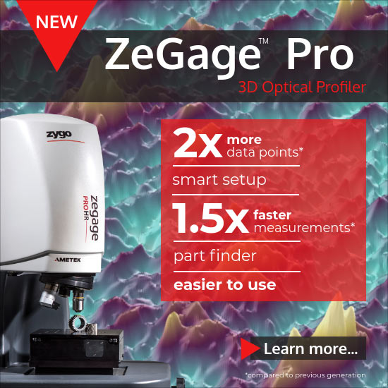 ZeGage Pro 3D Optical Profiler